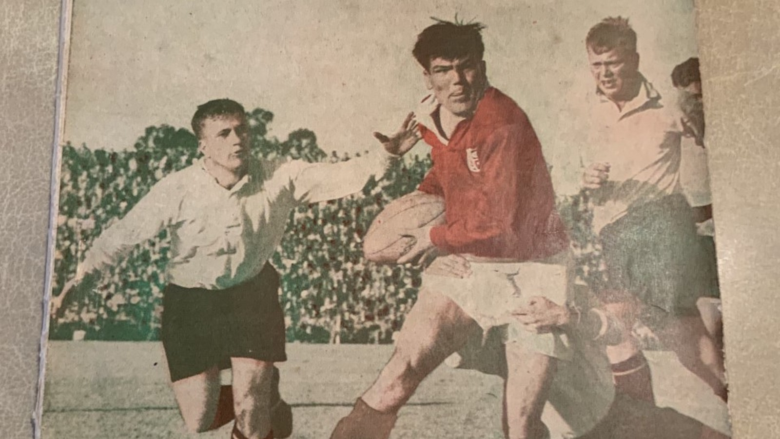 Bryn Meredith: Star of 1955 Tour on storied Lions career