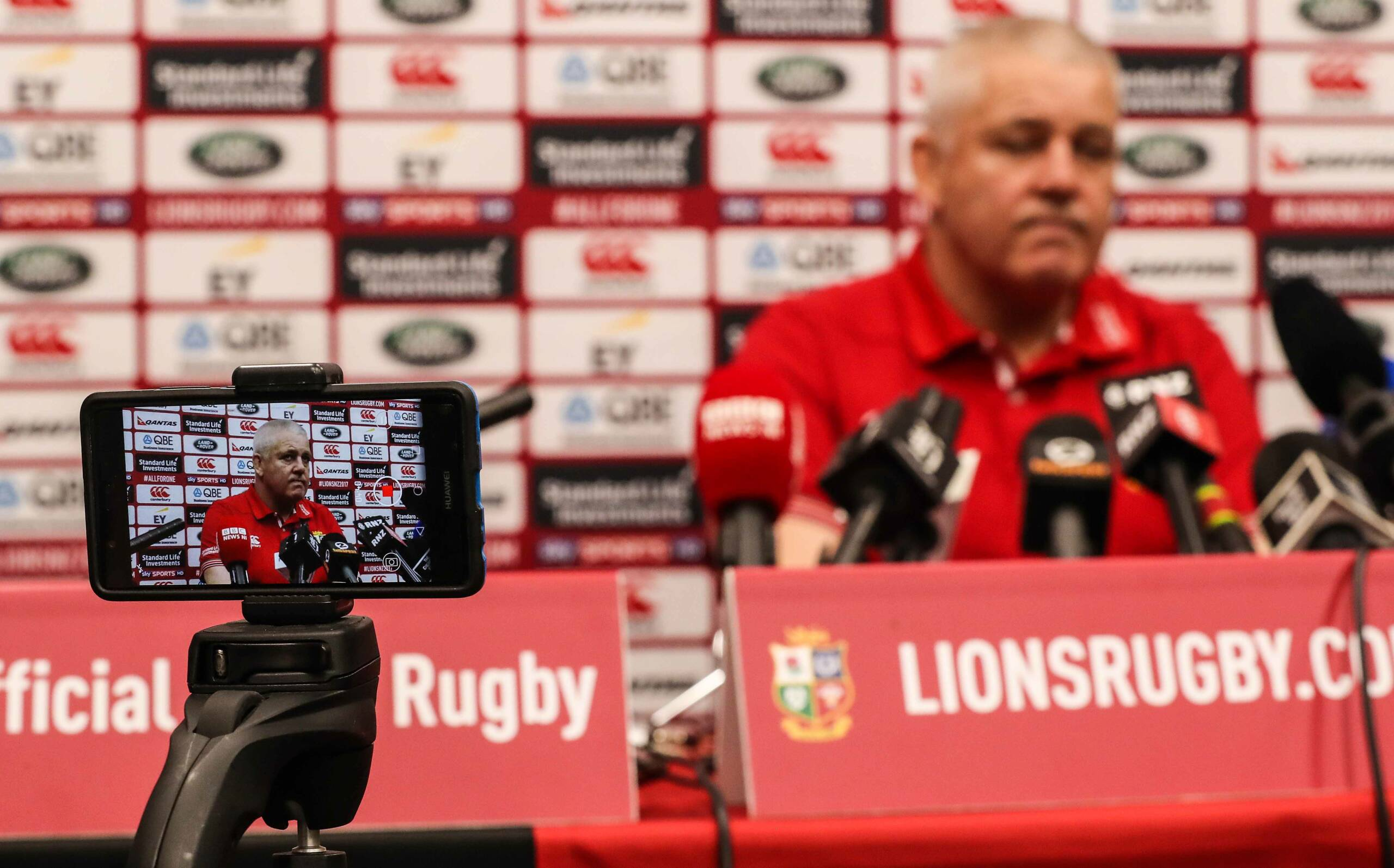 Lions press conference