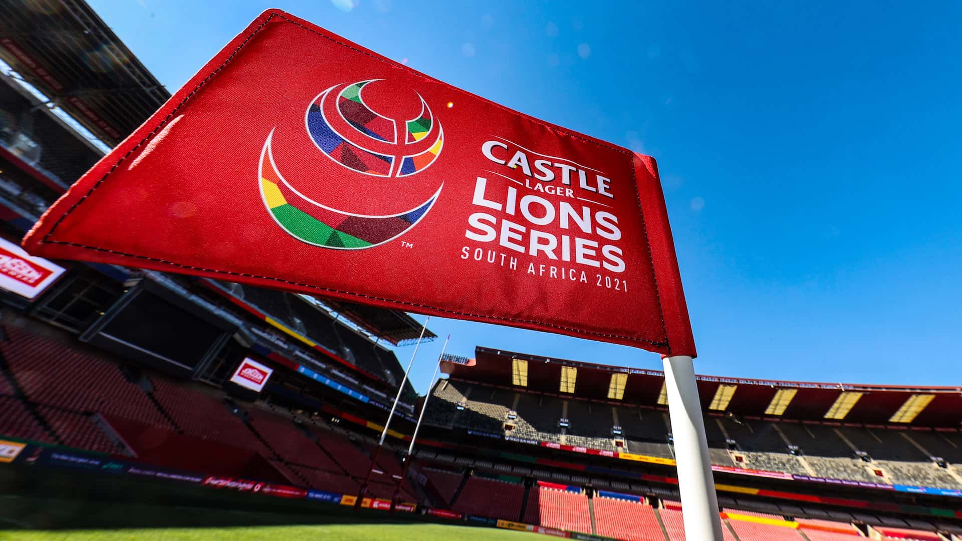 Lions Rugby flag
